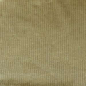 Cotton/elastane ribbing fabric - Pale mustard