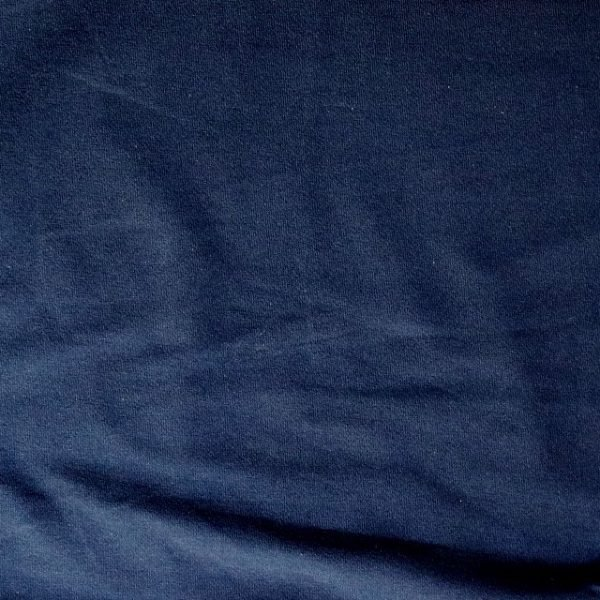 t-shirt weight jersey fabric - Navy