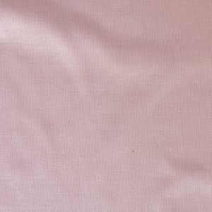 Cotton/elastane ribbing fabric - Pale pink