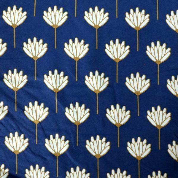 jersey fabric - Floret honeydew
