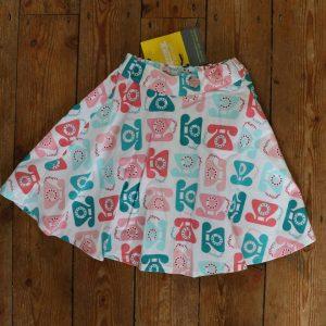 skirt - Retro Telephone- 9-12 Months