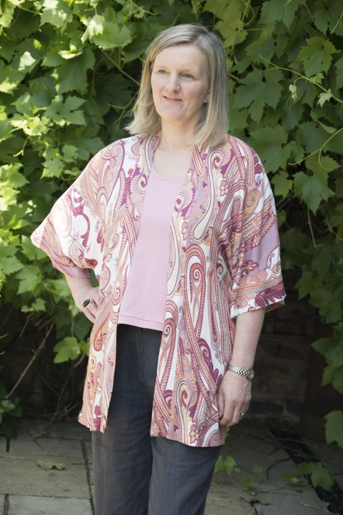 kimono top cardigan - Bobbins and Buttons.