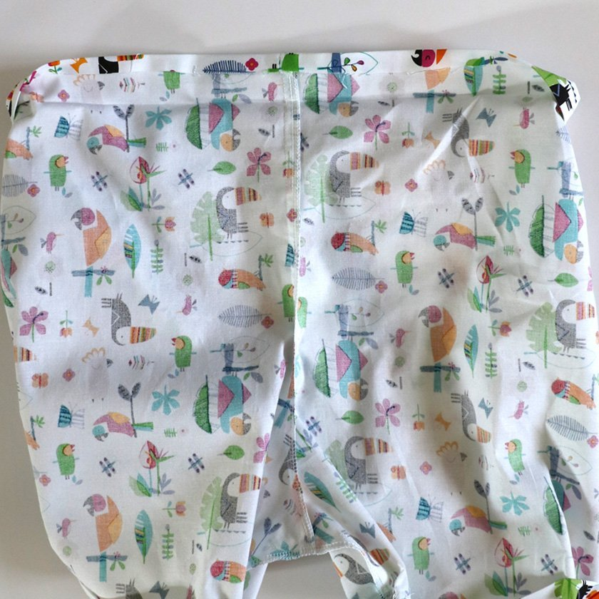 Free elasticated shorts pattern. Bobbins and Buttons