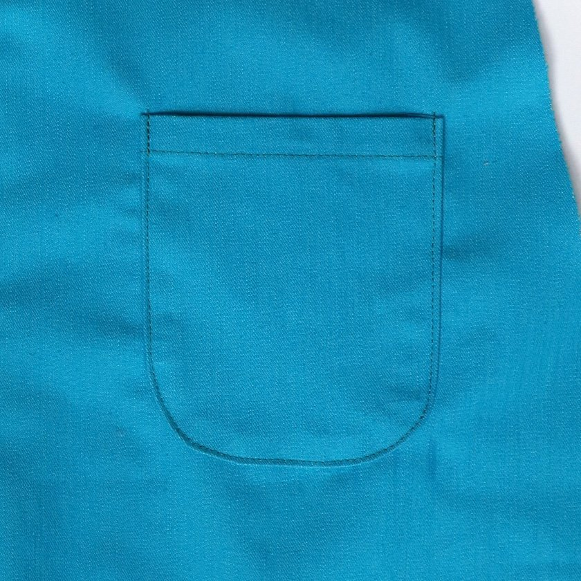 How to apply a perfect curved patch pocket.