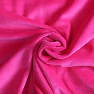 hot pink stretch velvet - Bobbins and Buttons