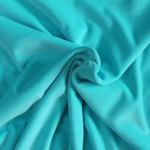 turquoise stretch velvet - Bobbins and Buttons
