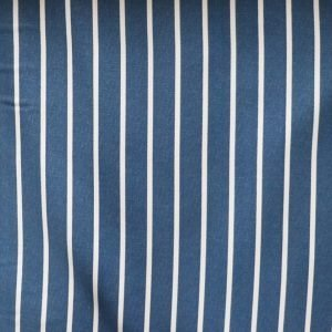 butchers stripe Bobbins and buttons