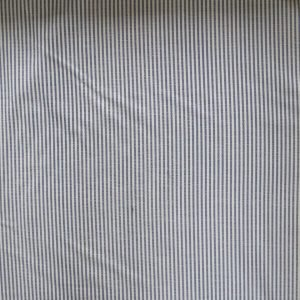 navy stripe canvas - bobbins and buttons