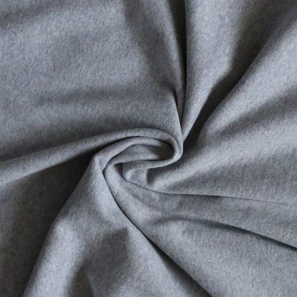 grey marl rib Bobbins and buttons