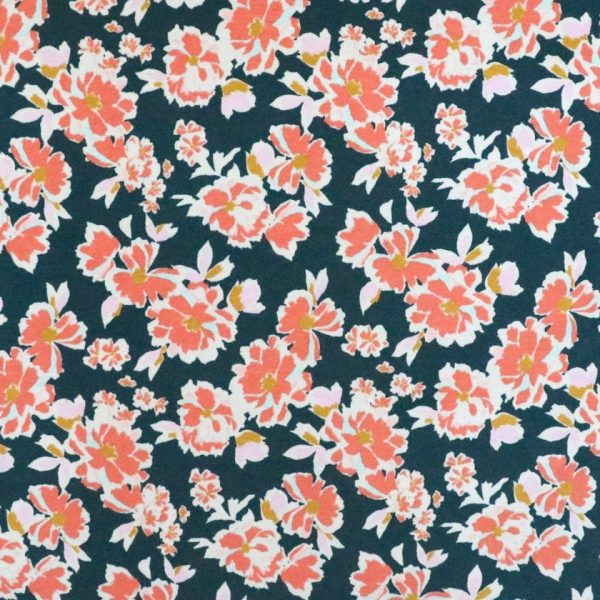 floral jersey - Bobbins and buttons