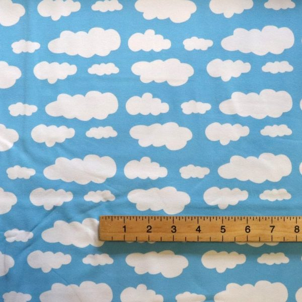 sky blue cloud jersey from Bobbins and buttons