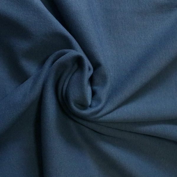 Denim blue rib from Bobbins and Buttons