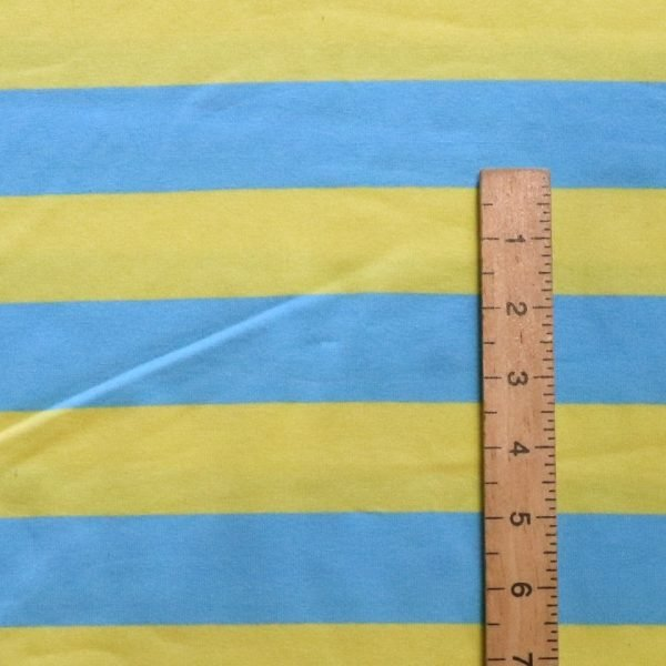 yellow stripe jersey from Bobbins and buttons