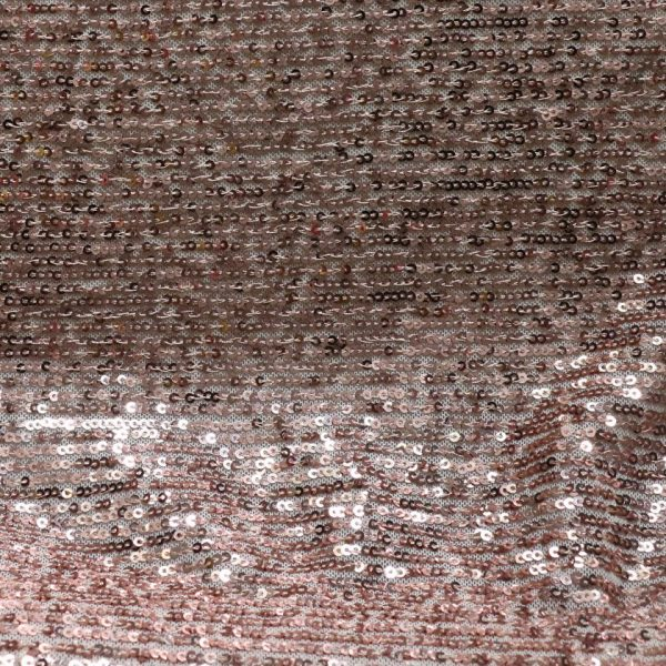 nude sequin fabric from bobbins and buttons