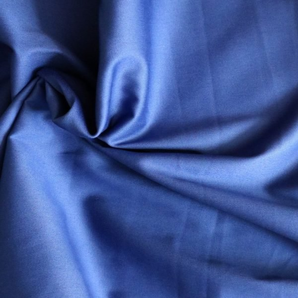 royal blue cotton sateen bobbins and buttons