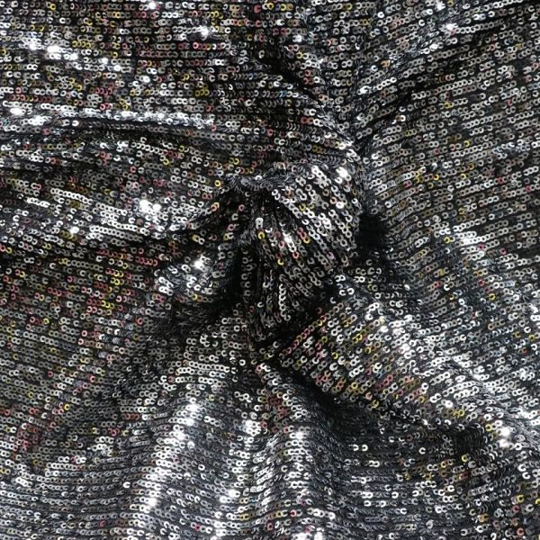silver sequin fabric from bobbins and buttons