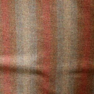Ombre stripe pure wool - Ochre to tan. bobbins and buttons