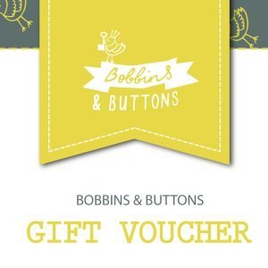 Bobbins and Buttons Gift Voucher