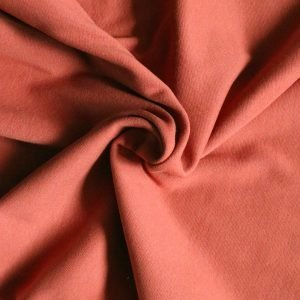 terracotta rib fabric from Bobbins and Buttons
