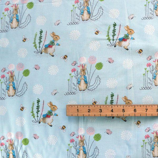 Peter rabbit fabric - Bobbins and Buttons