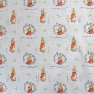 Flopsy Mopsy fabric - Bobbins and buttons