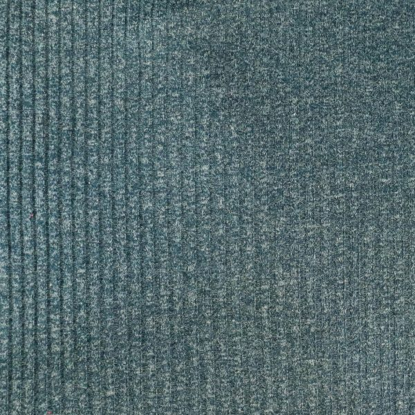 teal rib knit - bobbins and buttons