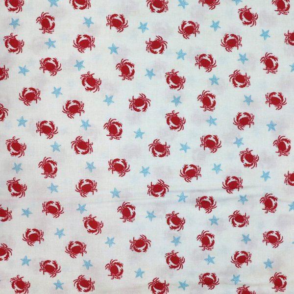 Makower crabs - Bobbins and Buttons