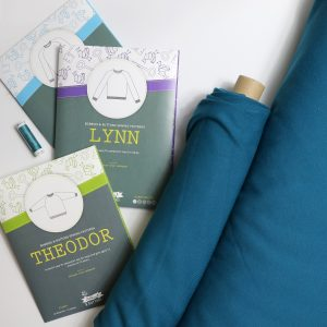 teal sweatshirt kit - Bobbins and buttons