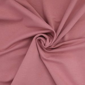 dusky pink french terry Bobbins and buttons