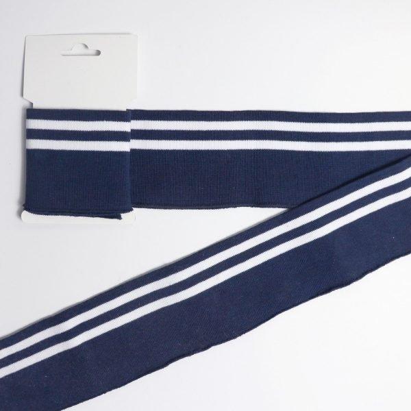 stripe rib trim Bobbins and Buttons