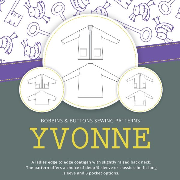Yvonne Bobbins and buttons