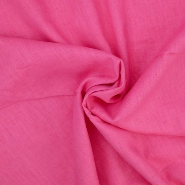 fuchsia pink linen from Bobbins and buttons