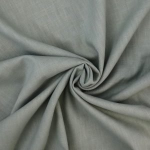 sage green linen from Bobbins and buttons