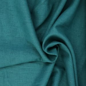 teal linen from Bobbins and buttons