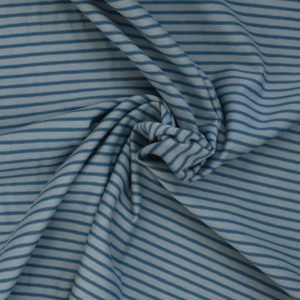 tonal blue stripe jersey from Bobbins and buttons