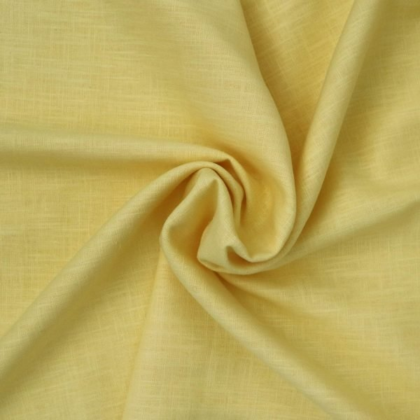 buttercup linen from Bobbins and buttons