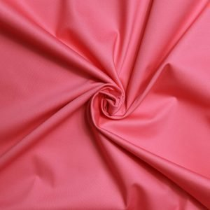 coral sateen from Bobbins and buttons