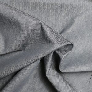 grey denim from Bobbins and buttons
