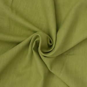moss green linen from Bobbins and Buttons