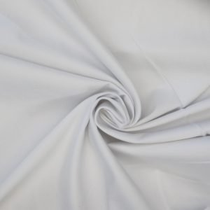 white cotton sateen from Bobbins and buttons