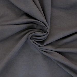 charcoal grey french terry from Bobbins and buttons