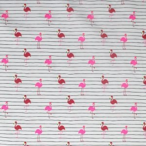 flamingo jersey from Bobbins and buttons
