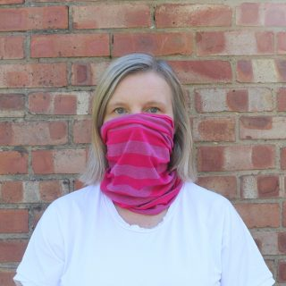 how to make a quick face covering from Bobbins and buttons