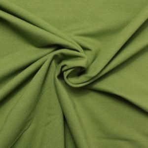olive green french terry from bobbins and buttons