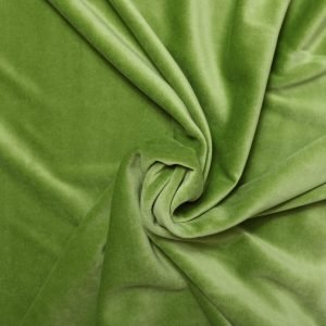 olive green velvet from Bobbins and buttons