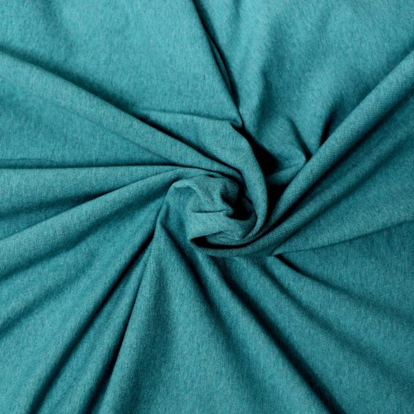 teal french terry from Bobbins and buttons
