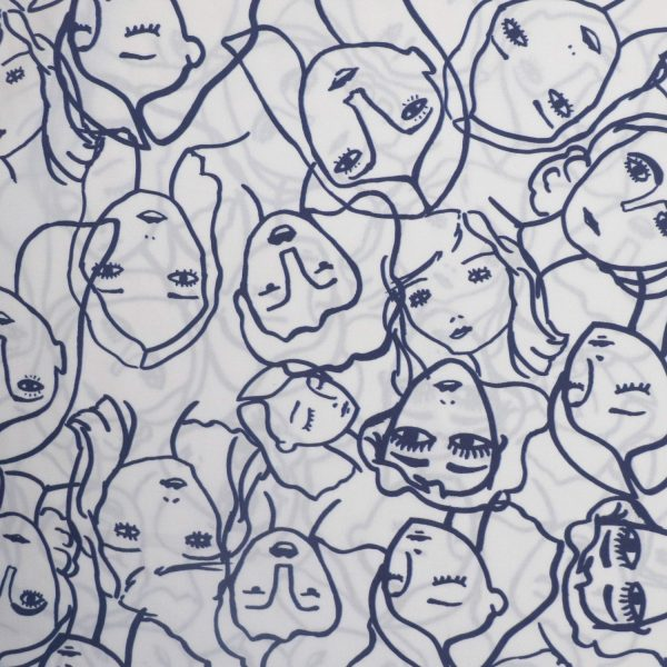 crowded faces from Bobbins and buttons