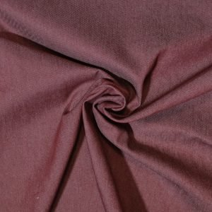 wine denim fabric from Bobbins and buttons online shop