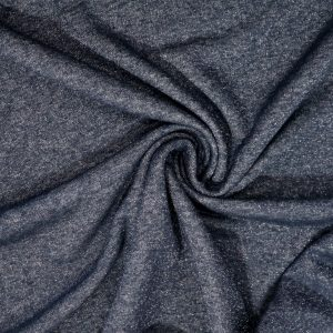 lurex cotton sweatshirt fabric from Bobbins and Buttons online shop