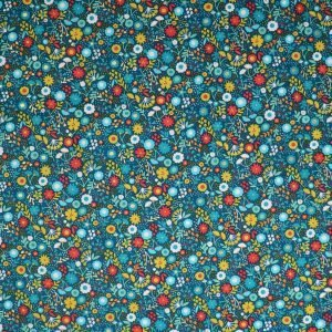 teal floral from Bobbins and buttons